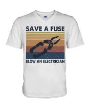 Save A Fuse V-Neck T-Shirt thumbnail