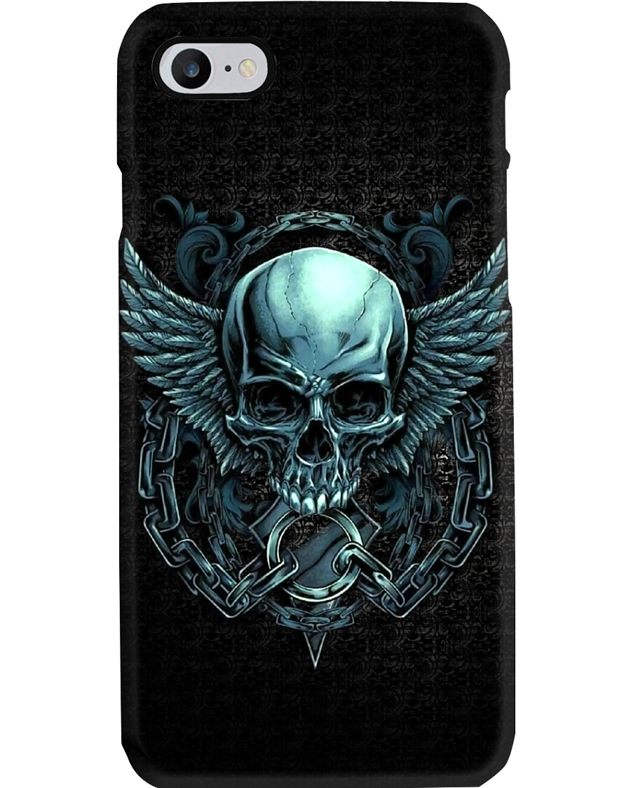 Skull Wings Art Phone Case
