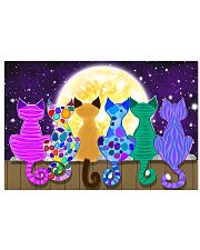 Color Cats Art 17x11 Poster front