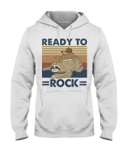 Ready To Rock Hooded Sweatshirt front