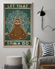 Let That Shlt Go 11x17 Poster lifestyle-poster-1