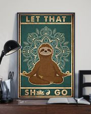 Let That Shlt Go 11x17 Poster lifestyle-poster-2