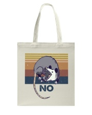 Possum No Funny Shirt Tote Bag thumbnail