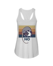 Possum No Funny Shirt Ladies Flowy Tank thumbnail