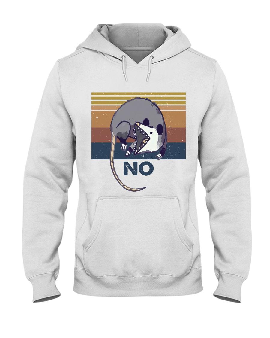 Possum No Funny Shirt Hooded Sweatshirt