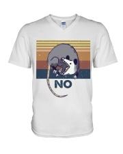 Possum No Funny Shirt V-Neck T-Shirt thumbnail