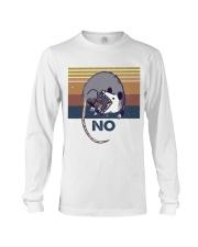 Possum No Funny Shirt Long Sleeve Tee thumbnail