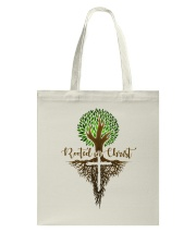 Rooted In Christ Tote Bag thumbnail