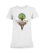 Rooted In Christ Premium Fit Ladies Tee thumbnail
