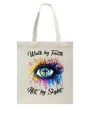 Walk By Faith Tote Bag thumbnail