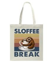 Sloffee Break Tote Bag thumbnail
