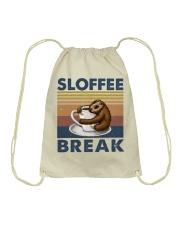 Sloffee Break Drawstring Bag thumbnail