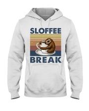 Sloffee Break Hooded Sweatshirt front