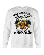 Not Here For A Long Time Crewneck Sweatshirt thumbnail