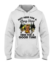 Not Here For A Long Time Hooded Sweatshirt front