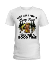 Not Here For A Long Time Ladies T-Shirt thumbnail