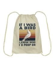 If I Was A Bird Drawstring Bag thumbnail