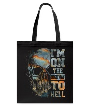 Im On The Highway To Hell Tote Bag thumbnail