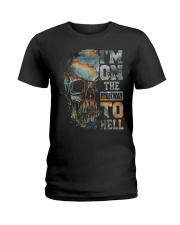 Im On The Highway To Hell Ladies T-Shirt thumbnail