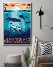 And Into The Ocean I Go 11x17 Poster lifestyle-poster-1