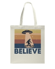 Believe Bigfoot Tote Bag thumbnail