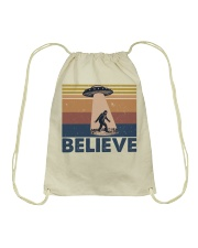 Believe Bigfoot Drawstring Bag thumbnail