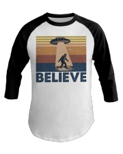 Believe Bigfoot Baseball Tee thumbnail