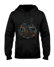 Lets Go Far Away Hooded Sweatshirt thumbnail