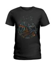 Lets Go Far Away Ladies T-Shirt thumbnail
