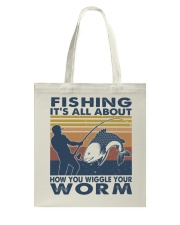 How You Wiggle Your Worm Tote Bag thumbnail