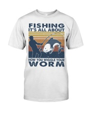 How You Wiggle Your Worm Classic T-Shirt thumbnail