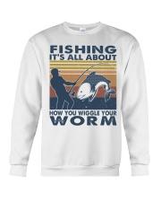 How You Wiggle Your Worm Crewneck Sweatshirt thumbnail