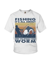 How You Wiggle Your Worm Youth T-Shirt thumbnail