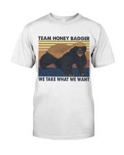 Team Honey Badger Classic T-Shirt thumbnail