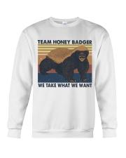 Team Honey Badger Crewneck Sweatshirt thumbnail