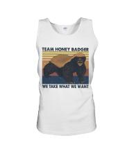 Team Honey Badger Unisex Tank thumbnail