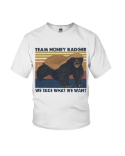 Team Honey Badger Youth T-Shirt thumbnail