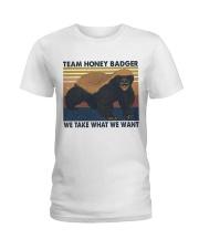 Team Honey Badger Ladies T-Shirt thumbnail