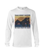 Team Honey Badger Long Sleeve Tee thumbnail