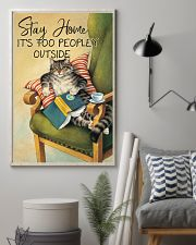 It Is Too Peopley Outside 11x17 Poster lifestyle-poster-1