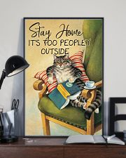 It Is Too Peopley Outside 11x17 Poster lifestyle-poster-2