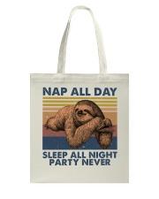 Nap All Day Tote Bag thumbnail