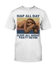 Nap All Day Classic T-Shirt thumbnail