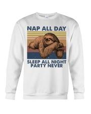 Nap All Day Crewneck Sweatshirt thumbnail