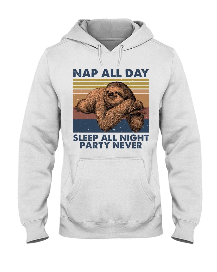 Nap All Day Hooded Sweatshirt
