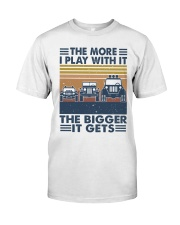 The More I Play Whit It Classic T-Shirt thumbnail