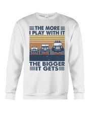 The More I Play Whit It Crewneck Sweatshirt thumbnail