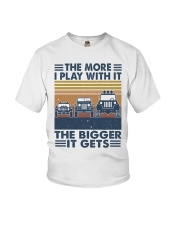 The More I Play Whit It Youth T-Shirt thumbnail