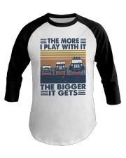 The More I Play Whit It Baseball Tee thumbnail