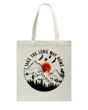 Take The Long Way Home Tote Bag thumbnail